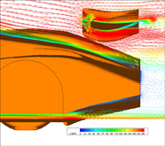 Le Mans CFD Analysis Images